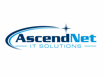 AscendNet logo design
