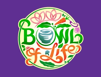 Bowl of Life logo design
