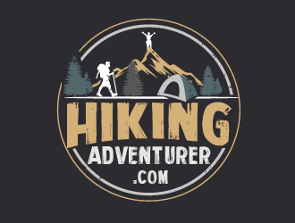 hikingadventurer.com or hiking adventurer logo design