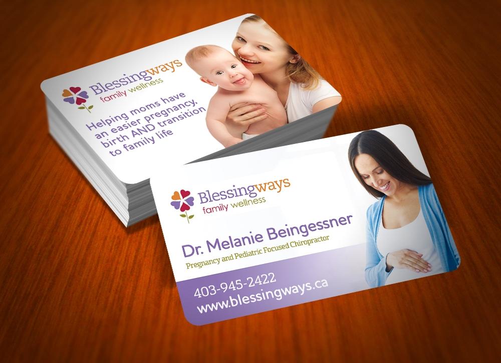 Blessingways Family Wellness logo design