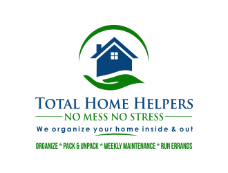 Total Home Helpers logo design