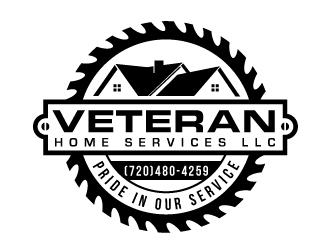 Veteran Home Services LLC logo design