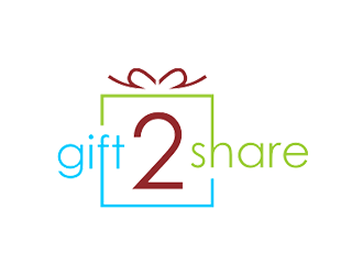 gift2share logo design by checx