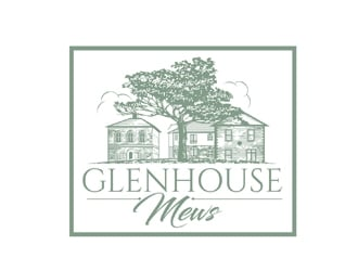 Glenhouse Mews logo design