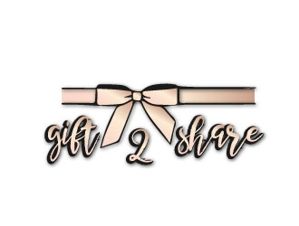 gift2share logo design by samuraiXcreations