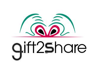 gift2share logo design by JessicaLopes
