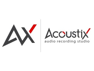 Acoustix logo design