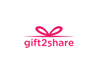 gift2share logo design by bluepinkpanther_