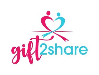 gift2share logo design by jaize