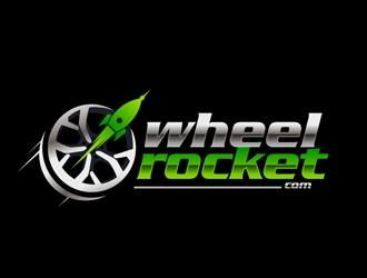 wheelrocket.com logo design
