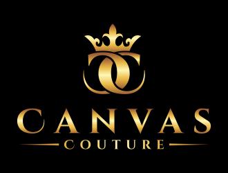 Canvas Couture logo design winner