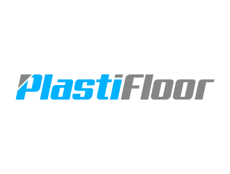 Plasti Floor logo design