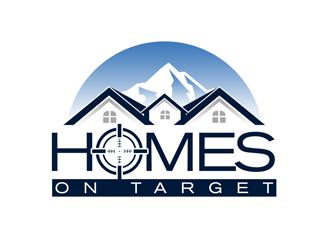Homes On Target logo design
