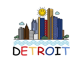 Detroit logo design