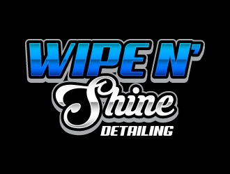 Wipe n Shine logo design