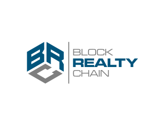 Block Realty Chain logo design