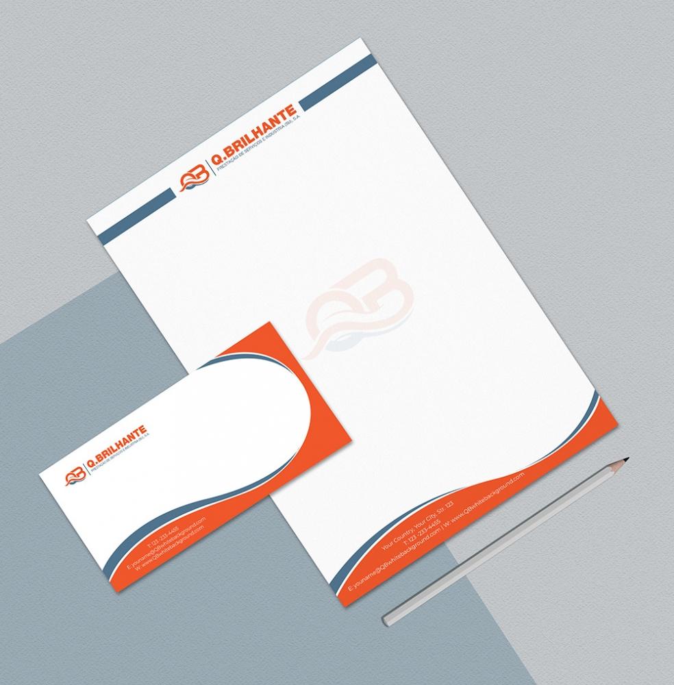 Q.Brilhante logo design