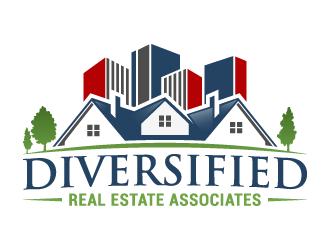 Diversified Real Estate Associates, LLC  logo design