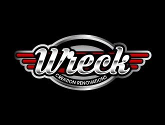 Wreck Creations Remodeling Services logo design