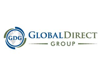 Global Direct Group logo design