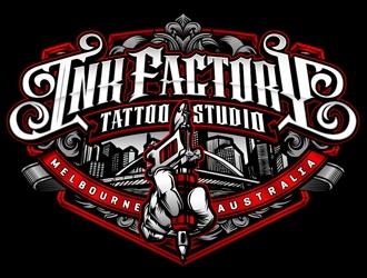 Ink factory logo design