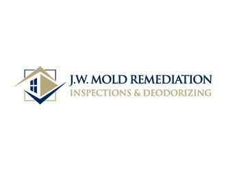 J.W. Mold Remediation, Inspections & Deodorizing logo design winner