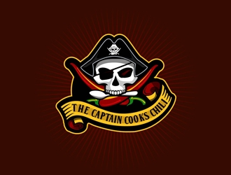 The Captain Cooks Chili logo design