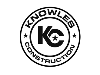 Knowles construction logo design