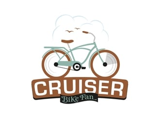 Cruiser Bike Fan logo design