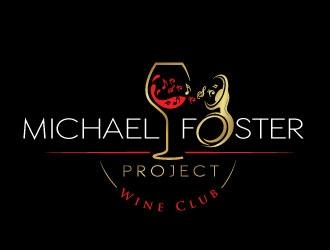 Michael Foster Project Wine Club logo design