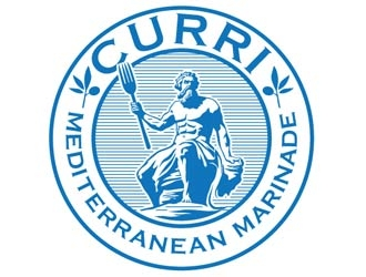 Curri Mediterranean Marinade logo design