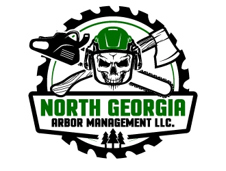 North Georgia Arbor Management LLC. logo design