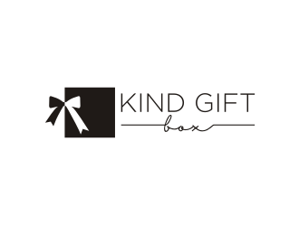 Kind Gift Box logo design