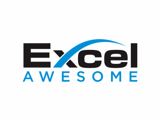 Excel Awesome logo design