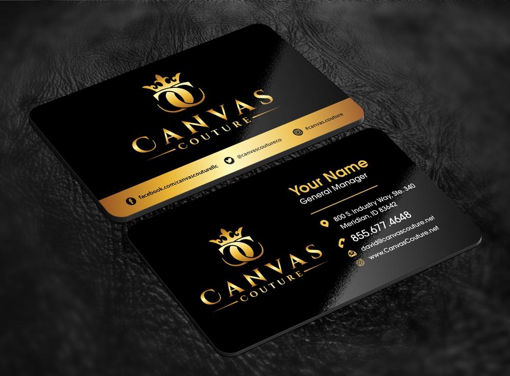 Canvas Couture logo design