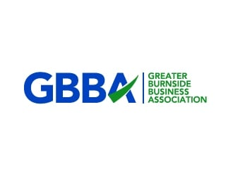 Greater Burnside Business Association logo design