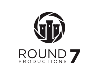 Round 7 Productions logo design