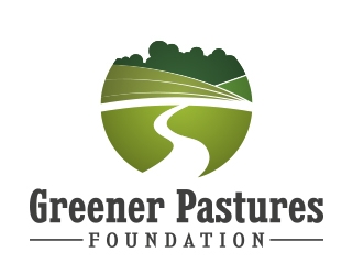 Greener Pastures Foundation logo design