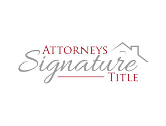 Attorneys Signature Title logo design