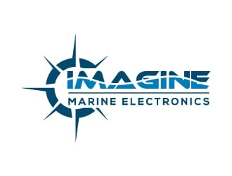 Imagine Marine Electronics logo design