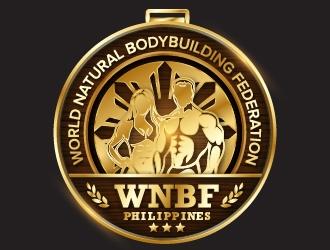 WNBF Philippines logo design