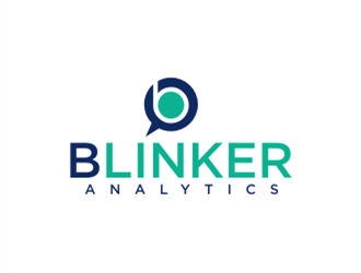 Blinker Analytics logo design