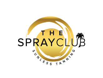 The Spray Club Logo Design