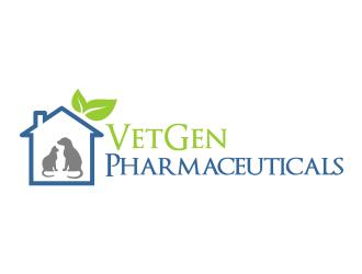 VetGenPharmaceuticals logo design by done