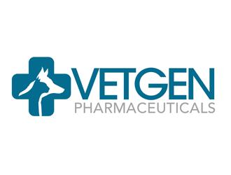 VetGenPharmaceuticals logo design by kunejo