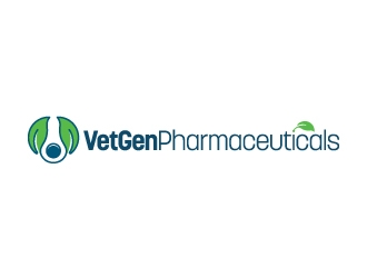 VetGenPharmaceuticals logo design by Kewin