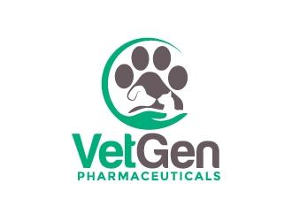 VetGenPharmaceuticals logo design by moomoo