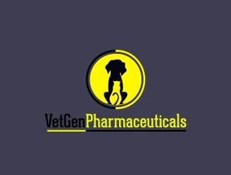 VetGenPharmaceuticals logo design by Dulartz