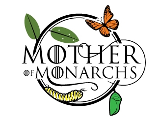 Mother of Monarchs   (GOT Parody Shirt Design) logo design