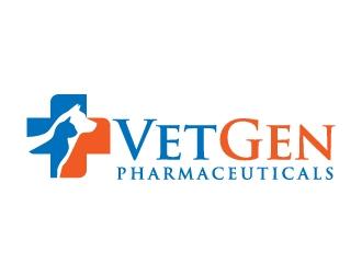 VetGenPharmaceuticals logo design by jaize